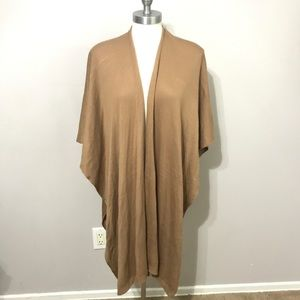 Forever 21 poncho cardigan small sleeveless open f